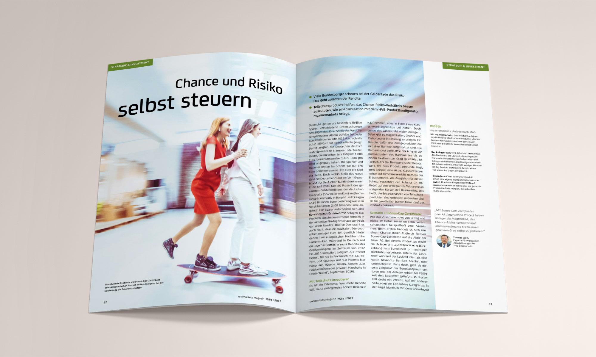 onemarkets Magazin Innenseiten 02