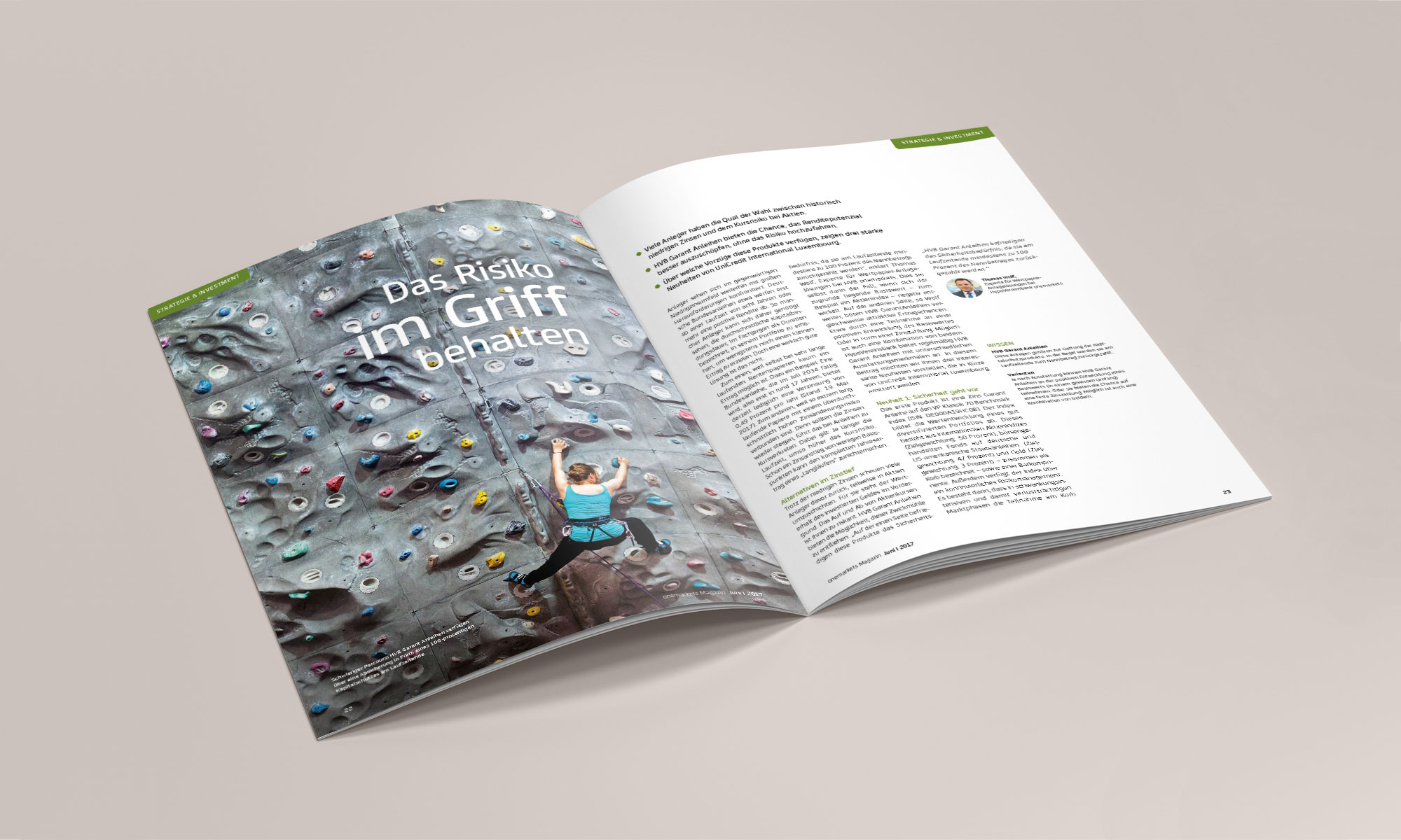 onemarkets Magazin Innenseiten 03