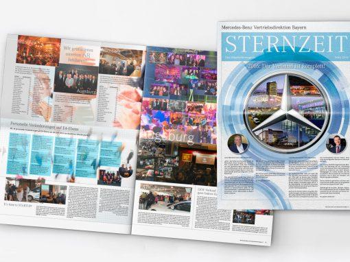 Sternzeit Mercedes-Benz München >> Editorial